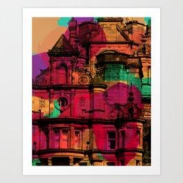 Like Lava II Art Print