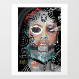 Passion Sounds Art Print