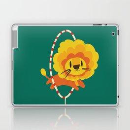 Lion hopped through a loop Laptop & iPad Skin