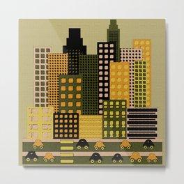 Urbanscapes Metal Print