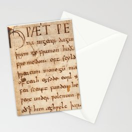 Beowulf  Stationery Cards