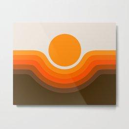 Golden Canyon Metal Print