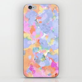 Floral abstract iPhone Skin