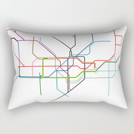 London tube Rectangular Pillow