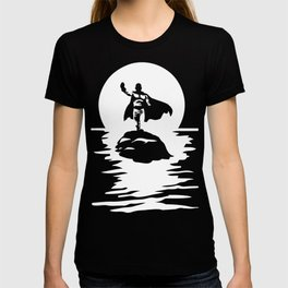 Sitama One Punch Man T-Shirt Anime River Moon One Piece Death Note Tokyo Ghoul Renamon T-shirt
