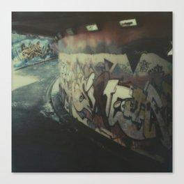 London Graffiti Canvas Print