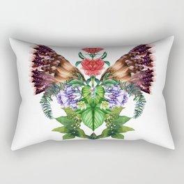 Wings of Flower Bliss Rectangular Pillow