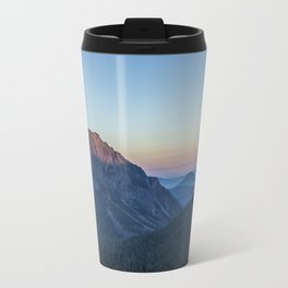 Dawn Color at Inspiration Point Metal Travel Mug