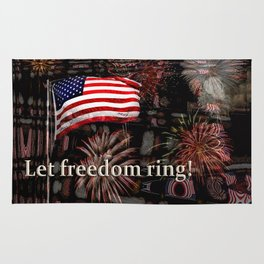 Let Freedom Ring! Rug