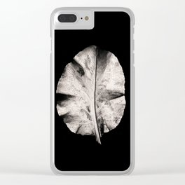 Carbon Leaf Clear iPhone Case