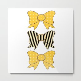 Sunshine Bows  Metal Print