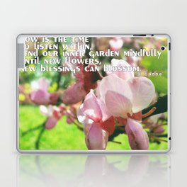 Spring in Hesse's quote Laptop & iPad Skin