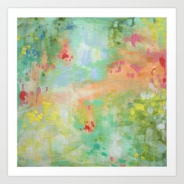 Collette- Abstraction Art Print