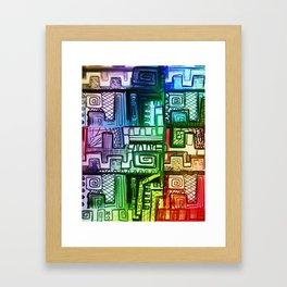 City Compartment Framed Art Print