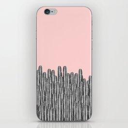 Watercolor of cacti XVI iPhone Skin
