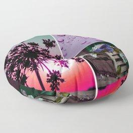Lilac in Bloom Floor Pillow