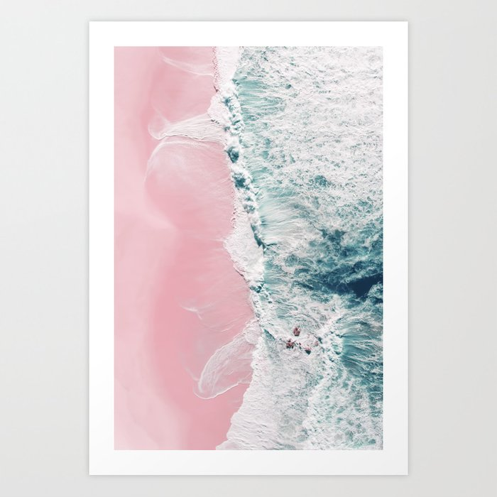 sea of love II Art Print