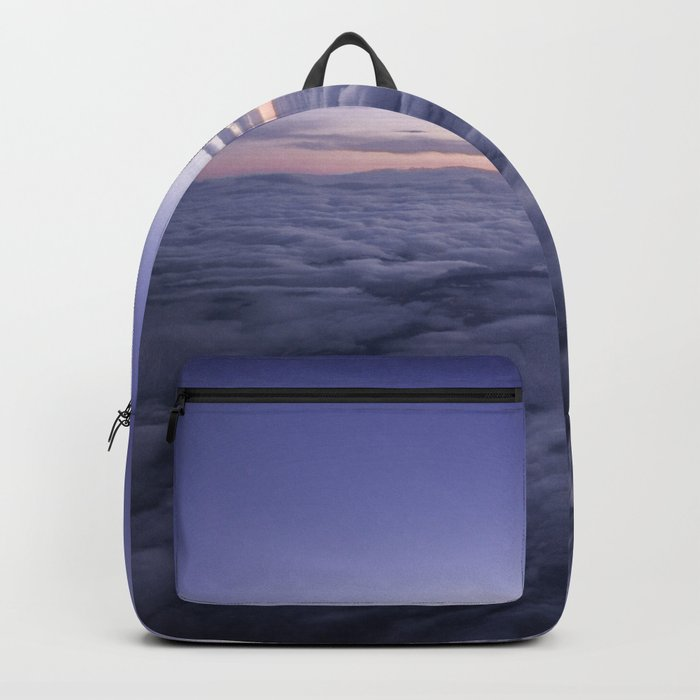 Dreamy clouds in the sky Backpack
