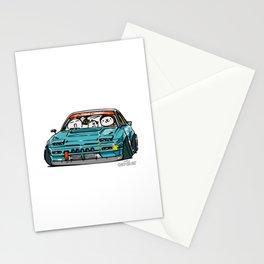 Crazy Car Art 0156 Stationery Cards