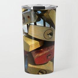 Love Locks #3: Gotta Whole Lotta Love Travel Mug