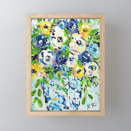 When Life Gives You Lemon Framed Mini Art Print