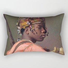 Jean-Leon Gerome - Bashi-bazouk - Digital Remastered Edition Rectangular Pillow