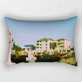Suburban afterlife Rectangular Pillow