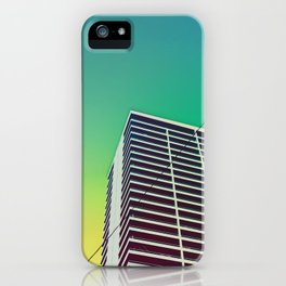 Ouest Palm iPhone Case