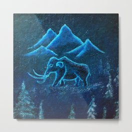 A Mammoth Journey Metal Print