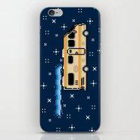8bit iPhone & iPod Skins featuring 8Bit Bad by Atomic Rocket