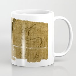 Unicorn Papyrus (P.Oxy 5403) Coffee Mug