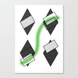 losange abstrait Canvas Print
