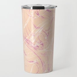 Adrift - Abstract Suminagashi Marble Series - 07 Travel Mug