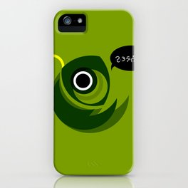 Green Fish iPhone Case