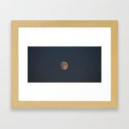 Shining Moon  Framed Art Print