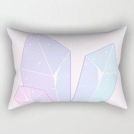 Crystal Fractures Rectangular Pillow