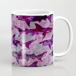 Danger: Purple Shark Attack Coffee Mug