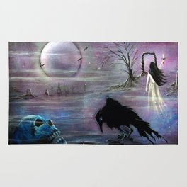 Nevermore Evermore  Rug