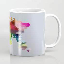 Geo World Map Coffee Mug