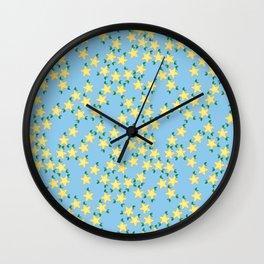 Kawaii Paopu Fruit Pattern Wall Clock