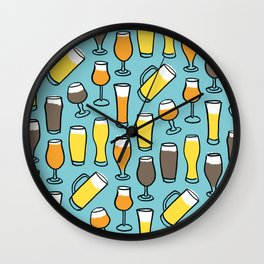 My Beer Diet Wall Clock
