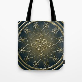 Golden Nemo Pattern Tote Bag