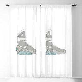 Air Mag grey - back to the future Blackout Curtain