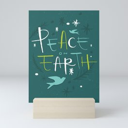 Peace on Earth Mini Art Print