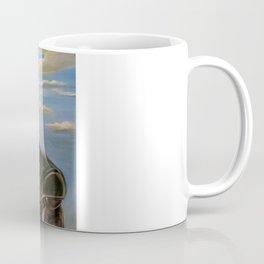 Robot & Flower Coffee Mug