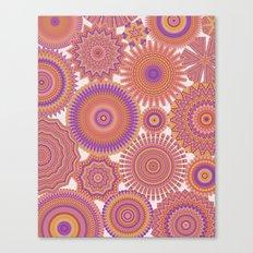 Kaleidoscopic-Fiesta colorway Canvas Print