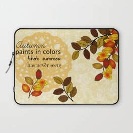 Painting In Colors Laptop Sleeve