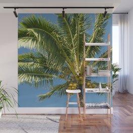 Hawaiian Coconut Palm Tree Wall Mural