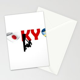 Tokyo, Climbing team and Sweden Stationery Cards