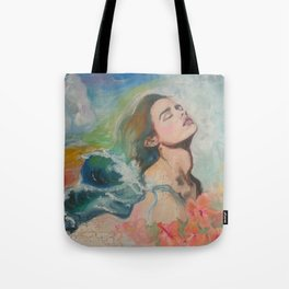 Hair like Waves Tote Bag
